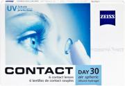 Контактные линзы Contact Day 30 Air Spheric 6 линз (упаковка)