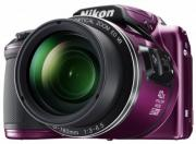 Фотоаппарат NIKON Coolpix B500 Purple (VNA952E1)