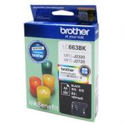 Картридж Brother LC-663BK Black для MFCJ2320 / 2720 (550стр)
