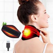 OPHAX USB Electric Hot Pack Infrared Heating Moxibustion And Magnetotherapy Helps Relieve Neck Pain Numbness For Neck Care
