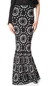 Pepa Pombo Printed Tube Skirt