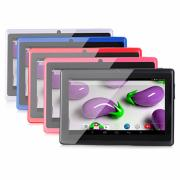 A33 7 дюймовый Android Tablet (Android 4.4 1024 x 600 Quad Core 512MB8Гб) / TFT / # / 32 / TFT / Micro USB