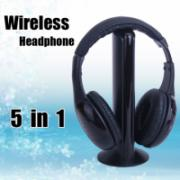 5 in1 Wireless Earphone Headset Headphone For Laptop PC