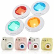 4 Colors Set Filter Close-Up Lens For Fujifilm Instax Mini 8 Camera