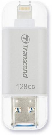 Transcend JetDrive Go 300 128 Gb Lightning and Usb 3.1 Silver (TS128GJDG300S)