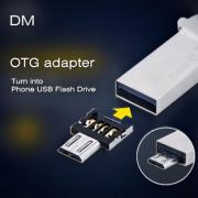 DM Micro USB to USB OTG Adapter for Samsung Galaxy Xiaomi Smartphones (EUD-386426)