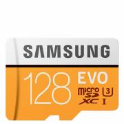 Upgraded Version SAMSUNG 128GB EVO Class 10 UHS-3 4K Micro SDXC TF Memory Card (EFM-533854)