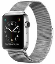 Смарт-часы Apple Watch Series 2 42mm Stainless Steel Case with Silver Milanese Loop (ZKMNPU2LL\A)