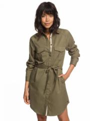 Платье ROXY Khaki Sphere J Burnt Olive