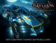 Batman: Arkham Knight - 1970s Batman Themed Batmobile Skin (PC)