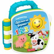 "Fisher-Price ""Музкальная книжка - Учим животных"" - интерактивная книга"