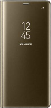Чехол-книжка Samsung (Galaxy Note8 Clear View Standing Cover Gold (EF-ZN950CFEGRU))