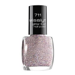 MISSLYN Верхнее покрытие glitter flash nail lacquer № 714