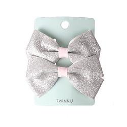 TWINKLE Заколки для волос TWINKLE BACK TO SCHOOL, color silver 2 шт.