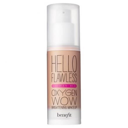 """Benefit Hello Flawless Oxygen Wow Жидкое тональное средство SPF 25 PA+++ Toasted Beige """"Warm me up"""""""