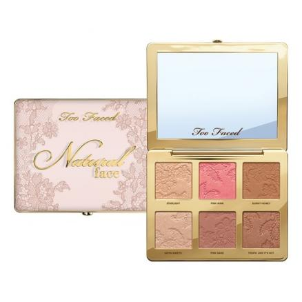 Too Faced NATURAL FACE Палетка для лица Starlight