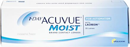 Контактные линзы 1-Day Acuvue Moist  for Astigmatism 30 линз