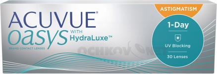 ACUVUE OASYS 1-Day with HydraLuxe™ for Astigmatism 30 линз 30 линз