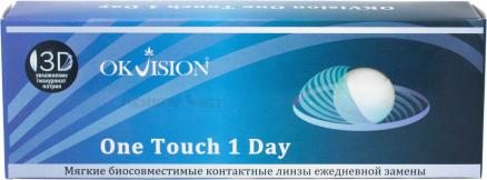 Контактные линзы One Touch 1 Day 30 линз