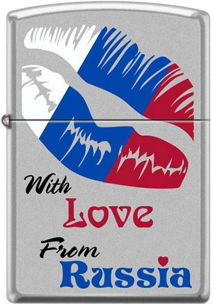 Зажигалки Zippo Z_205-With-Love-From-Russia
