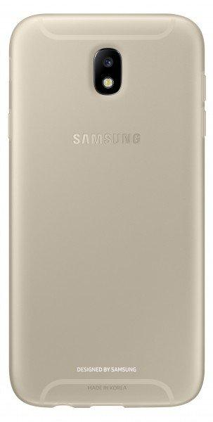 Чехол Samsung для Galaxy J7 2017 J730 Jelly Cover Gold