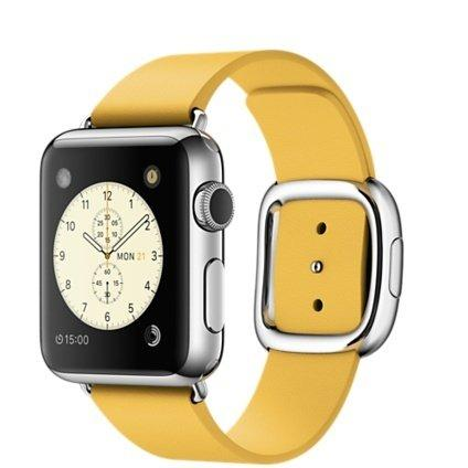Смарт-часы Apple Watch 38 MMFF2 St Steel Case with Marigold Modern Buckle - Medium (MMFF2KR/A)