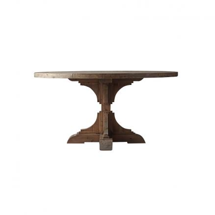 Стол обеденный 100% Salvage Twin Baluster Table Small 210x100x76 GERT 0*0 T-GEO-TD-0001-Z