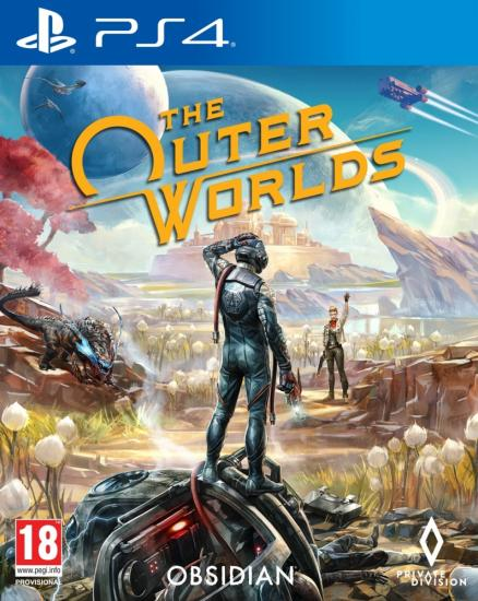 Диск The Outer Worlds (PS4, русские субтитры)