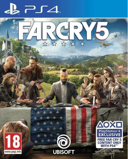 Диск Far Cry 5 (PS4, Russian version)