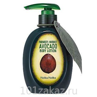 Holika Holika Farmer's Market Abocado Body Lotion лосьон для тела с авокадо, 240 мл