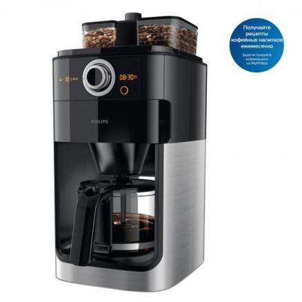 Кофемашина Philips Grind & Brew HD7769 (HD7769/00)