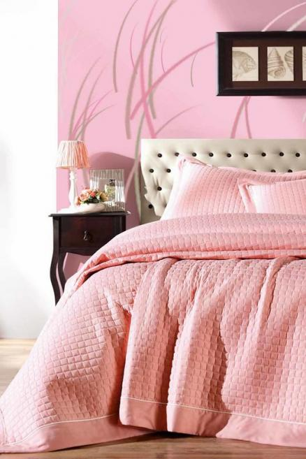 single quilted bedspread set Cotton box
