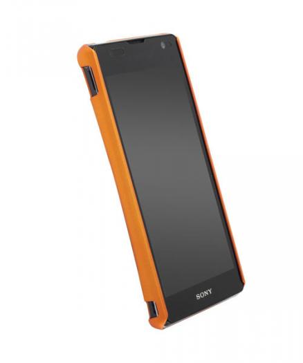Чехол для Sony Xperia TX Krusell ColorCover Orange Metallic