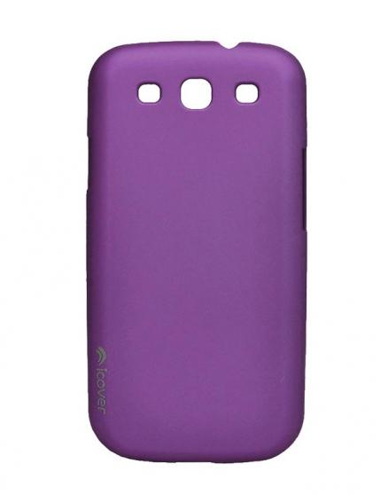 Чехол для Galaxy S III iCover Rubber purple