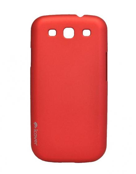 Чехол для Galaxy S III iCover Rubber red