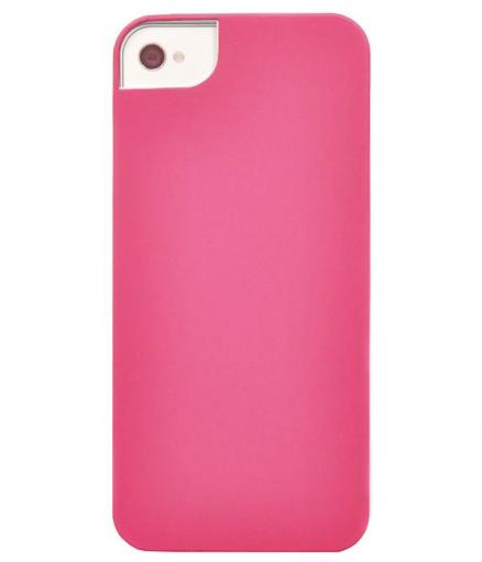Панель для iPhone 5/5S iCover Rubber pink IP5-RF-P