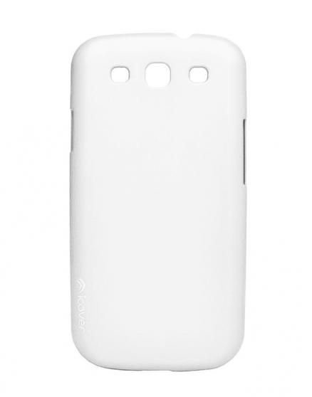 Чехол для Galaxy S III iCover Rubber white