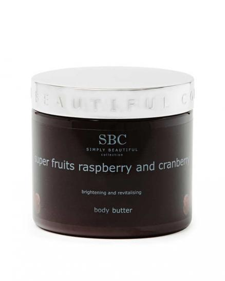 Масло для тела с экстрактами малины, граната и клюквы, 450 мл SBC Super Fruits Raspberry & Cranberry