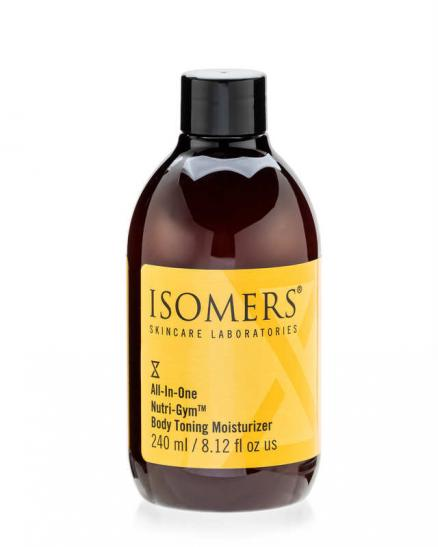 Увлажняющий крем для тела Isomers All in One Nutri-Gym body Toning Moisturizer