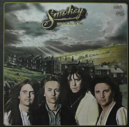 SMOKIE Changin All the Time transparent & black LP