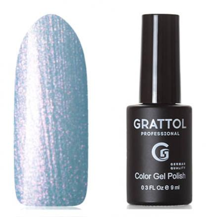 Grattol, Гель-лак Classic Collection №160, Azure pearl