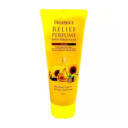 Deoproce, Скраб для тела Relief Perfume Yellow, 200 г