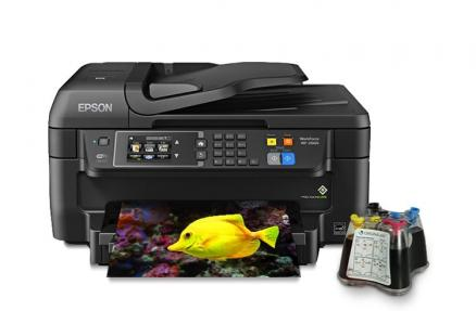 МФУ Epson Workforce WF-2660 Refurbished by Epson с СНПЧ
