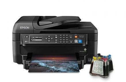 МФУ Epson Workforce WF-2650 с СНПЧ