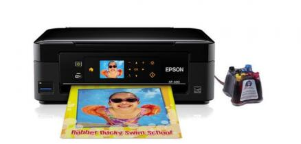 МФУ Epson Expression Home XP-400 с СНПЧ