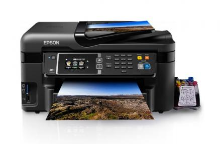 МФУ Epson Workforce WF-3620DWF Refurbished by Epson с СНПЧ