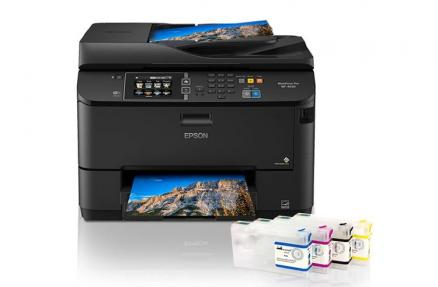 МФУ Epson WorkForce Pro WF-4630 с ПЗК