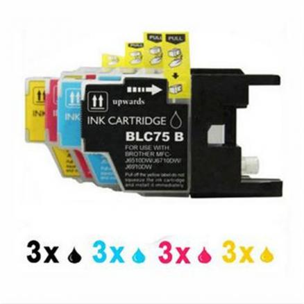 LC1280 LC71 LC73 Compatible for Brother Ink Cartridge MFC-J430W MFC-J825DW MFC-J835DW DCP-J525N DCP-J540N Printer Inkjet
