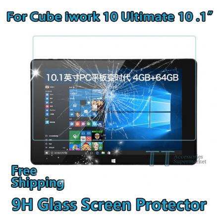 """Tempered Glass For ALLDOCUBE Cube iwork10 Ultimate iwork10 pro 10.1""""tablet pc,Cube iwork 10 Ultimate Screen Protector"""