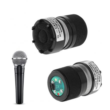 Microphone Capsule Professional Core Fits For Shure SM58 Type Mic Replace